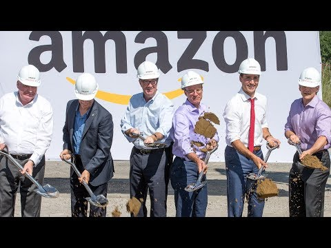 Amazon Officially Breaks Ground In Orléans