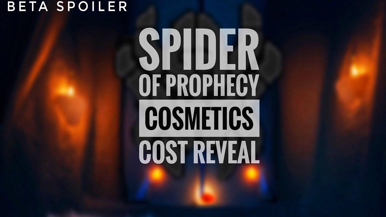 [BETA SPOILER] COST OF COSMETICS - SPIDER OF PROPHECY🕷 | sky children of the light | Noob Mode