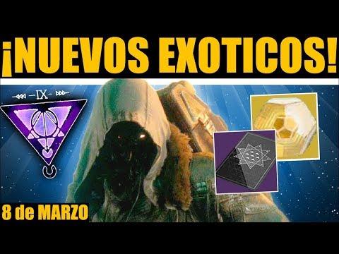 Destiny 2 - XUR TIENE NUEVOS EXÓTICOS! Nuevo Inventario! Localización! Contratos! | 8 de Marzo thumbnail