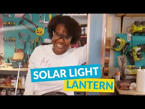 DIY Solar Light Lantern
