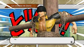 One Piece Pirate Warriors 3 ep1 salvando a Zoro