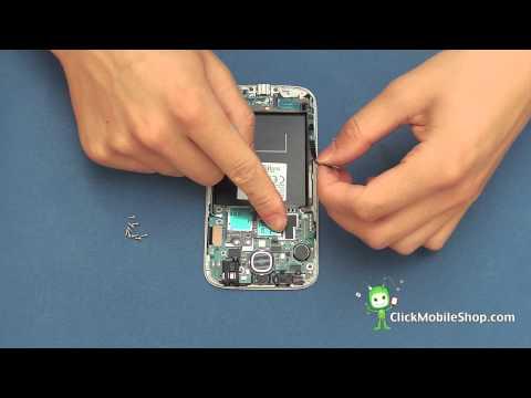 Samsung Galaxy S4 i9500 Disassembly