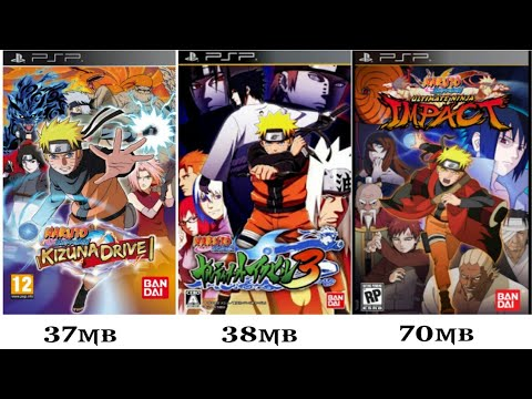3 Game Naruto PSP Ukuran Kecil PPSSPP Android
