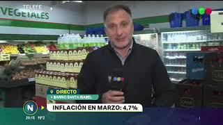Inflación de marzo Cuales son los alimentos que más aumentaron