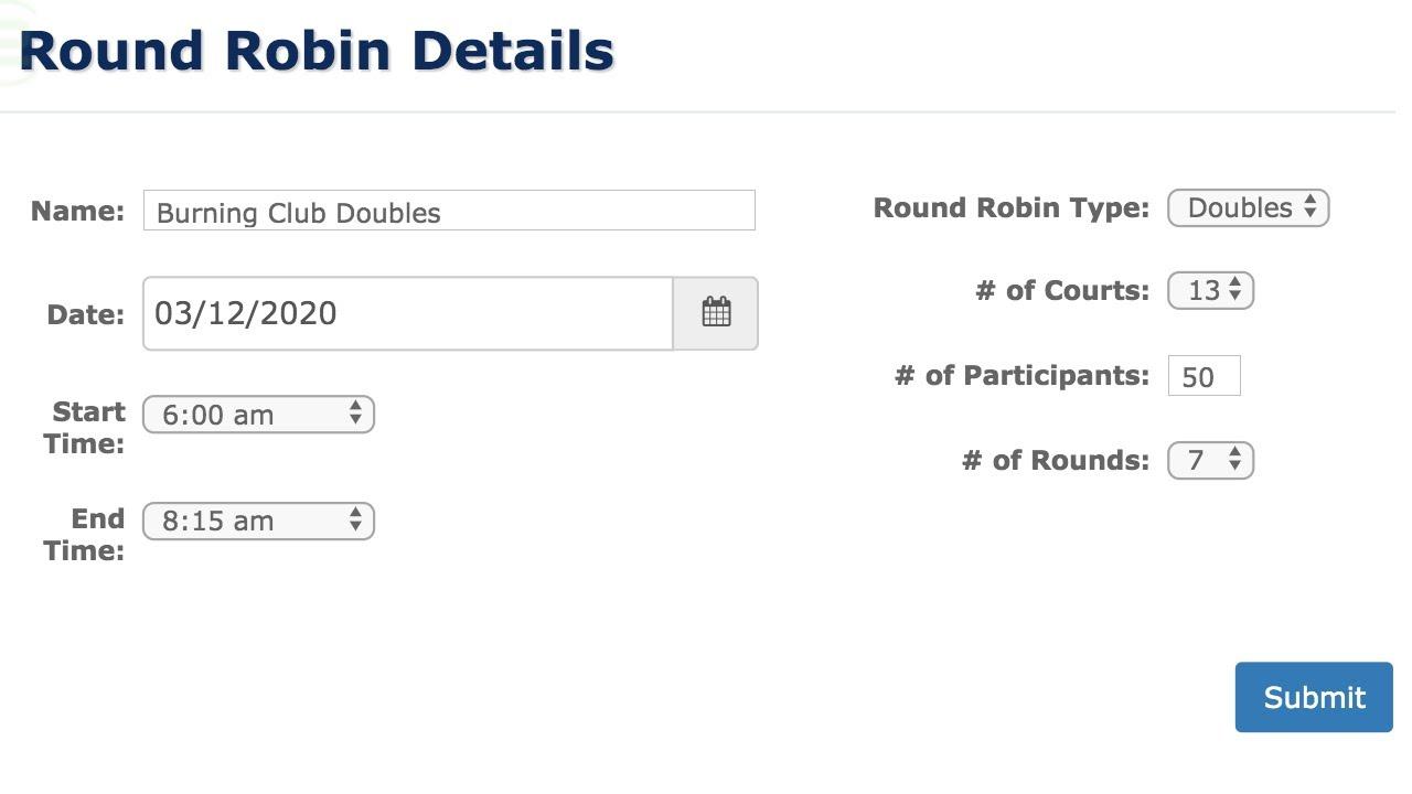 Round Robin Tournament Generator Free Youtube Round robin tournament template excel