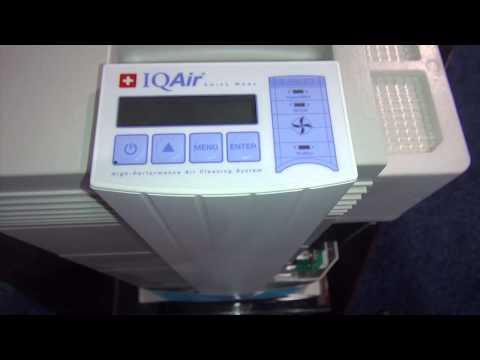 IQAir Tradeshow Demonstration - ABC Vacuum