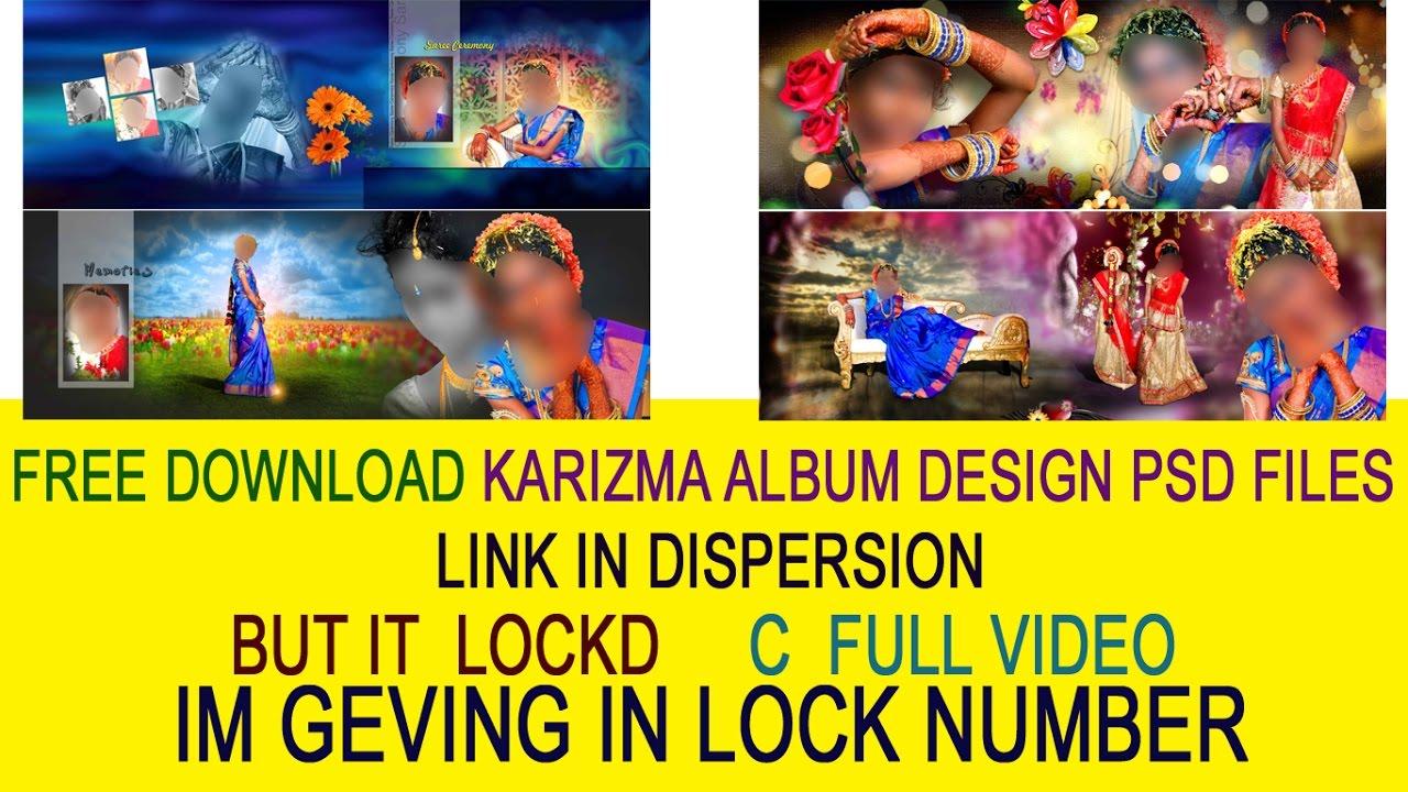 Free download karizma album design psd files link in dispersion.