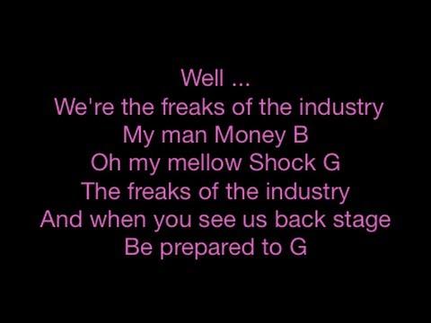 Digital Underground - Freaks Of The Industry - Lyrics - SANFRANCHINO