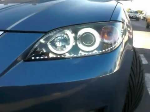 Ojos de Angel - Angel Eyes Mazda 3 Sedan.MOV Quito-Ecuador - YouTube