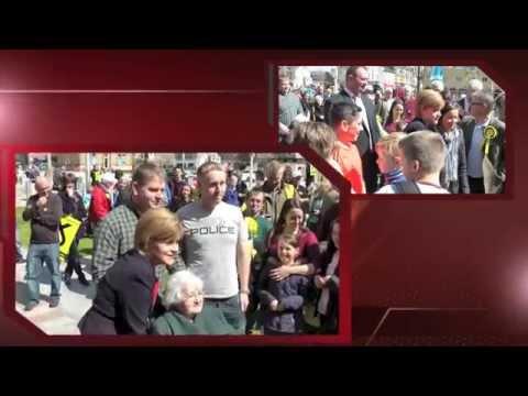 Nicola's visit to Helensburgh