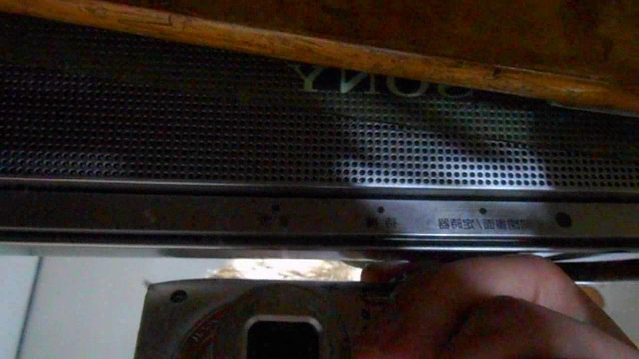 SONY(索尼)型號:KLV 32V300A,無法啟動~紅燈閃5下… - YouTube