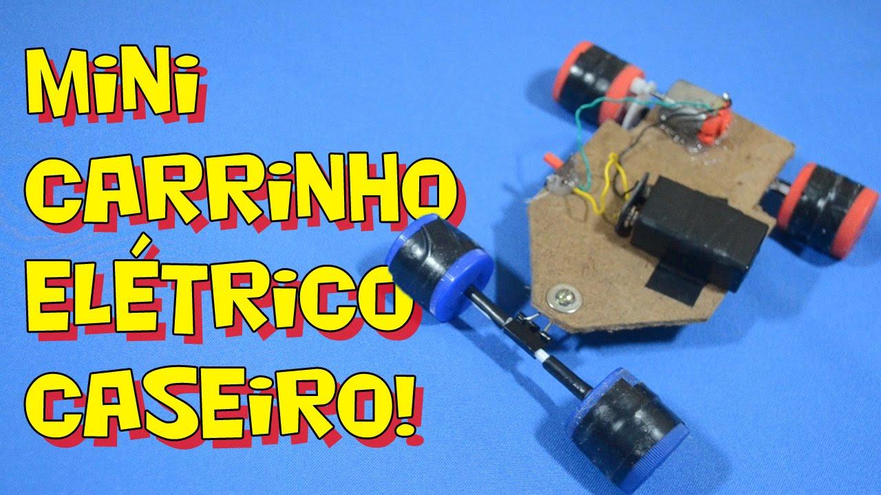 dc35ee7f491 Como fazer um carrinho elétrico caseiro! - Faça o seu! - YouTube