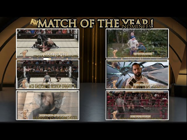 AOW Match Of The Year Nominees Announced!