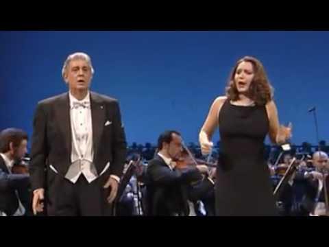 Placido   Domingo & Barbara  Frittoli  Final Scene  Il Trovatore
