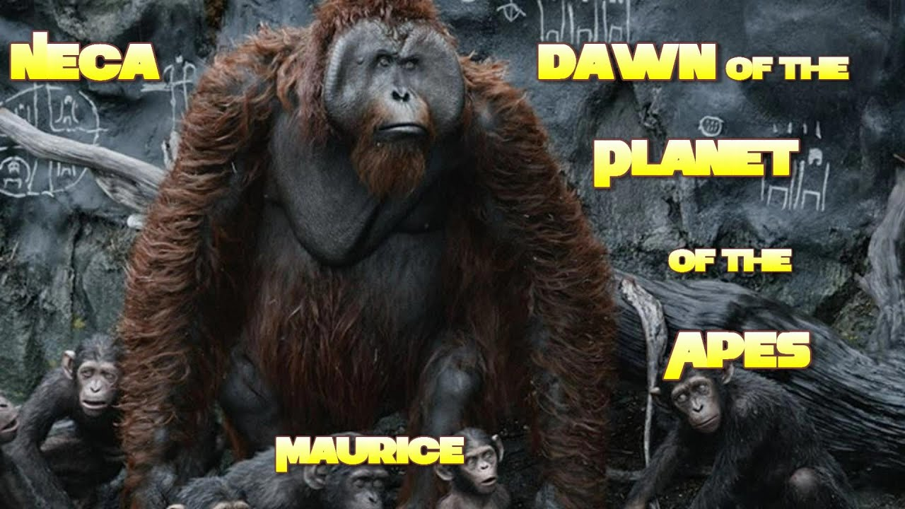 Dawn Of The Planet Of The Apes Maurice And Caesar