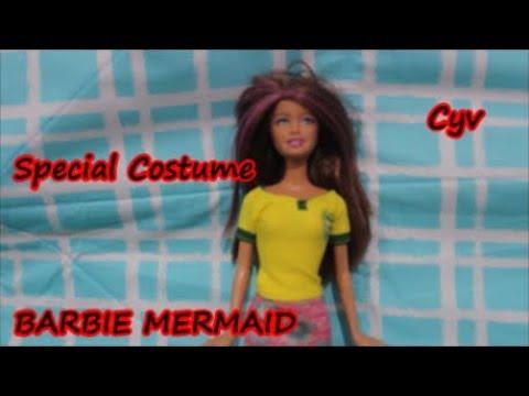 Barbie Mermaid Pilih Pakaian Bola Barbie Putri Duyung Ganti Costume