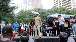 ATL Hip Hop Day at Woodruff park 2017