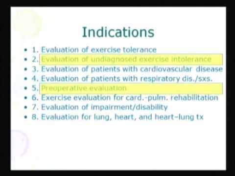 Cardio-Pulmonary Exercise Testing - Salah Zeineldine