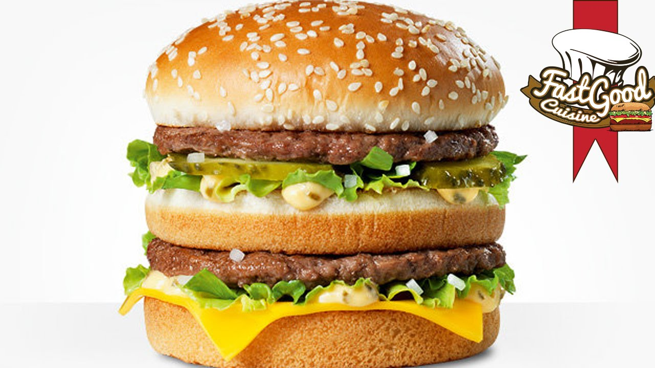 Recette big mac maison ventana blog - Fast good cuisine big mac ...