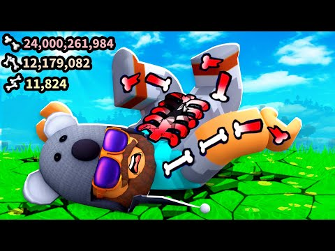 I Broke OVER 20 BILLION Bones!! | Broken Bones IV | Roblox