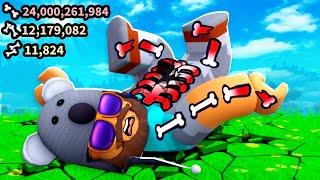 I Broke OVER 20 BILLION Bones!! | Broken Bones IV | Roblox