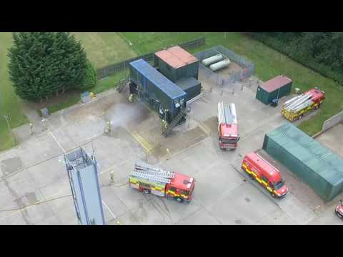 Hertfordshire fire & rescue passing out parade 2016