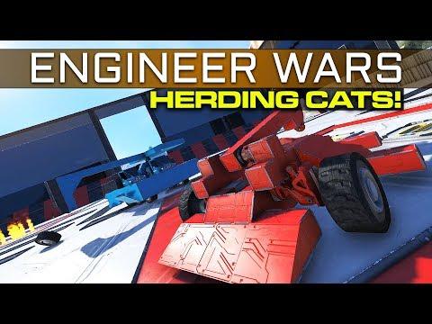 Space Engineers - 'Herding Cats' - ENGINEER WARS EP6 Clang Teaser