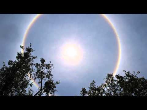 Halo around the sun makes people nervous