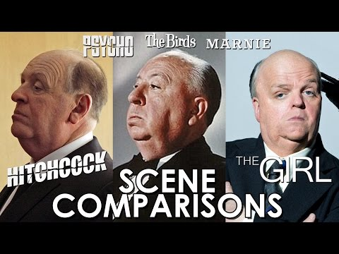 Hitchcock, The Girl, Psycho, The Birds and Marnie - scene comparisons