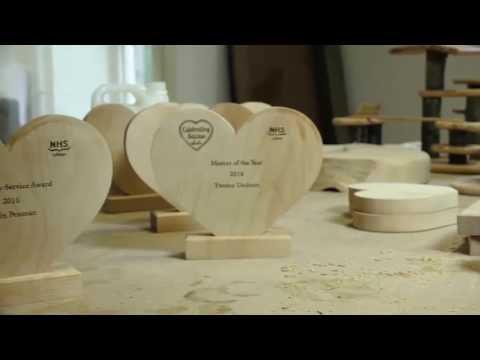 NHS Video Featuring GCP wood workshop