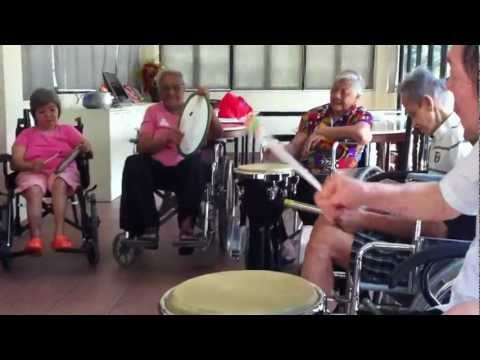 DRUM THERAPY FOR ELDERLY SINGAPORE