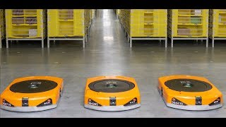 Roboty v distribučnom centre Amazonu thumbnail