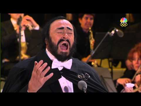 Luciano Pavarotti at 2006 Winter Olympics in Italy  Opening Ceremony