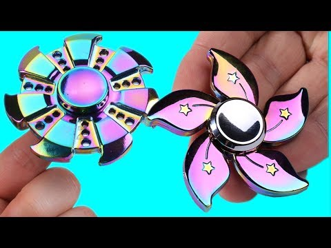 RAREST Fidget Spinner In The Whole World Compilation