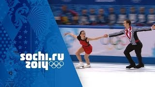 Ksenia Stolbova & Fedor Klimov Win Silver With Free Program | Sochi 2014 Winter Olympics