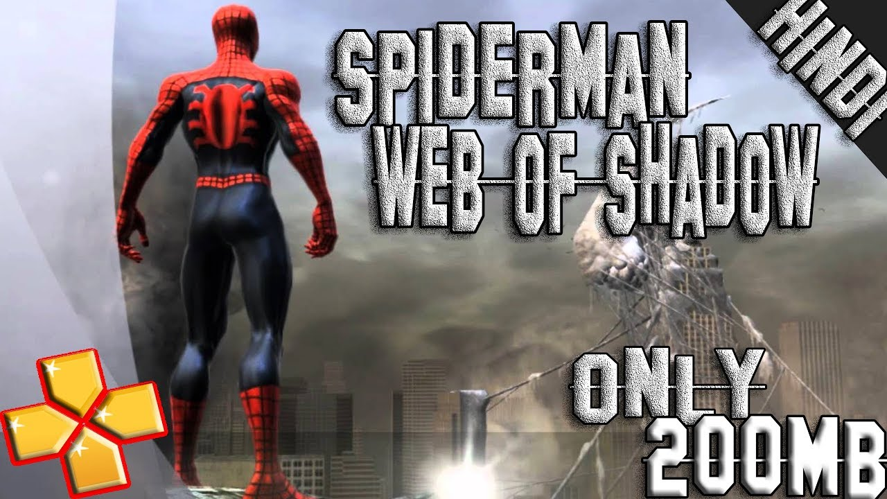 spider man web of shadows psp cso free download