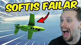 SOFTIS FAILAR MED FLYG OCH BLIR DNF   GTA 5
