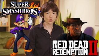 Massive News: Waluigi Playable Fighter For Smash Ultimate ? & Red Dead Redemption 2 Gameplay & More
