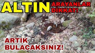 ALTIN ARIYORSANIZ DİKKAT! ARTİK ÇOK KOLAY BULACAKSINIZ!!!