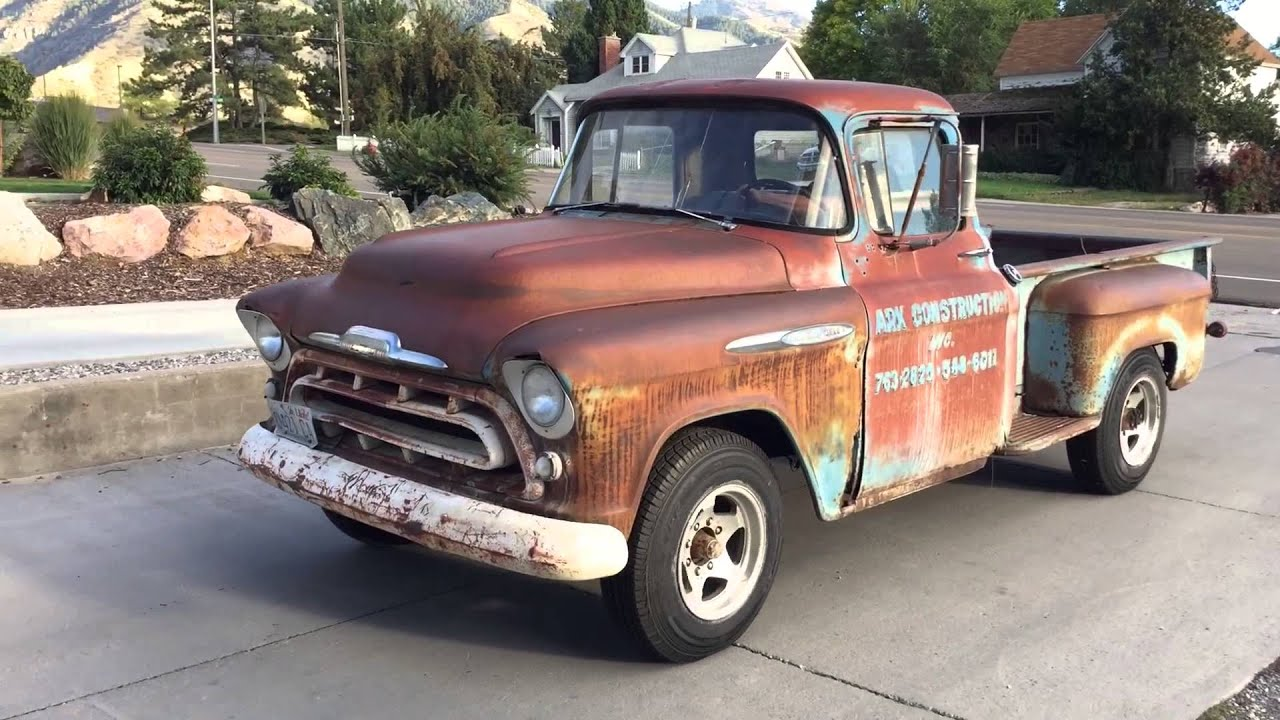 Spencer\'s Vintage Truck Restoration - YouTube