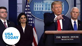 White House addresses coronavirus as U.S. death toll rises | USA TODAY