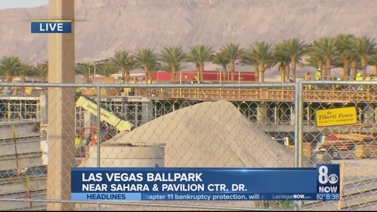 New ballpark in downtown Summerlin making progress. - YouTube on