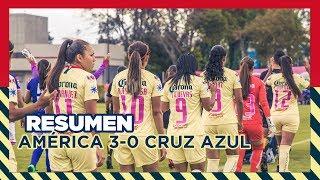 RESUMEN | América 3 - 0 Cruz Azul | Liga MX Femenil - Apertura 2018 - Jornada 12 | Club América