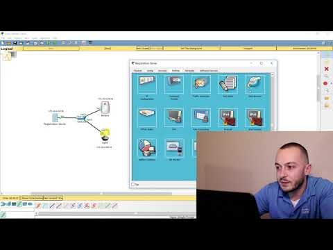Setting up IOT in Cisco Packet Tracer – Registration Server