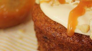 Banana Walnut Bread Muffin Recipe
