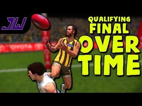 qualifying-final-over-time!---coach-career-#24-|-afl-evolution-2018-gameplay-|-episode-106