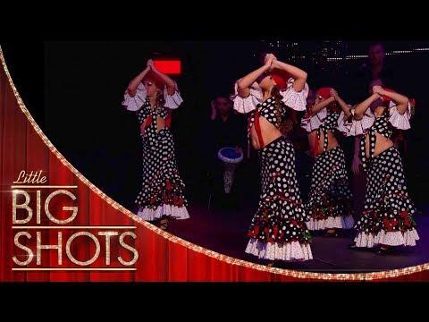 These Flamenco Dancers Are a Tornado! | Little Big Shots