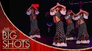 These Flamenco Dancers Are a Tornado! | Little Big Shots