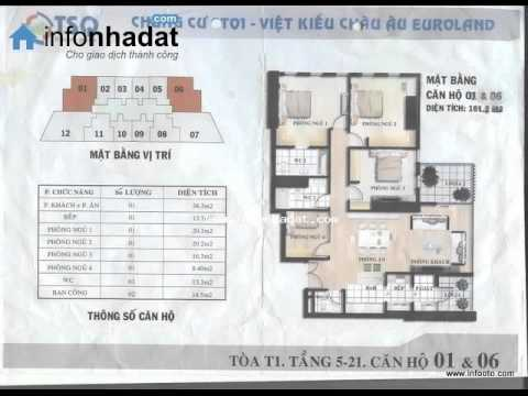 Bán căn hộ quận Thanh Xuân, tại làng Việt Kiều châu Âu-Euro land.wmv
