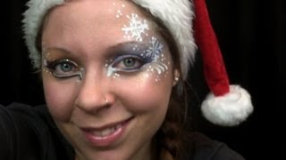 Face painting - Funky Christmas Design Eng.